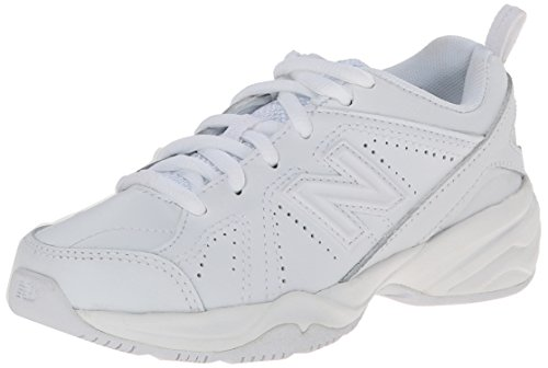 New Balance KX624 Lace-Up Training Shoe (Little Kid/Big Kid),White,2 M US Little Kid by New Balance
