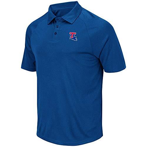 Mens Louisiana Tech Bulldogs Wellington Polo Shirt - XL