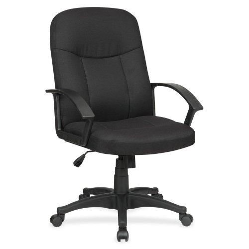LLR84552 - Lorell Executive Fabric Mid-Back Chair