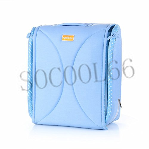 SOCOOL66 Infant Sleeper Snuggle Nest Travel Baby Bed Cot Doubles As a Nanny Bag (Blue)