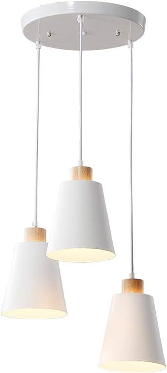 LED moderno Lámpara colgante de mesa de comedor Lámpara de mesa de ...