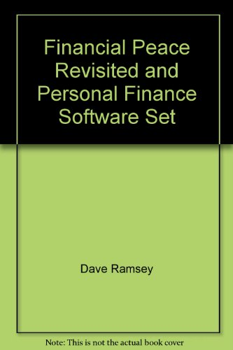 Financial Peace Revisited and Personal Finance Software Set