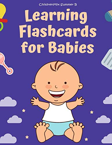 Animals Flash Alphabet Cards - Learning Flashcards For Babies: These flash cards for toddlers and preschoolers consist of ABC alphabet, number,animals,fruit, shape, sight word list ... good for kindergarten homeschool curriculum.