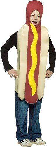 [Rasta Imposta - Hot Dog Child Costume] (Hot Dog Costume Women)