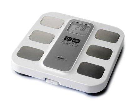 Omron BF400 - Báscula digital con análisis de la grasa corporal y del índice de masa corporal