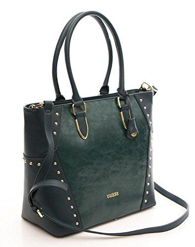 Guess Borsa Donna Minerva Shopper verde