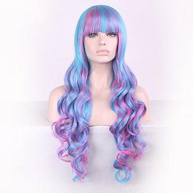 hjl-parrucca Cosplay japoneses sufeng original pelucas lolita orificio de seda morado RICCIOLO gradiente de temperatura alta, 30 inch: Amazon.es: Deportes y ...