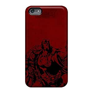 Apple Iphone 6 Rnt2686Uimk Support Personal Customs High Resolution Hellboy Poster Pictures Shockproof Hard Phone Cover -88bestcase