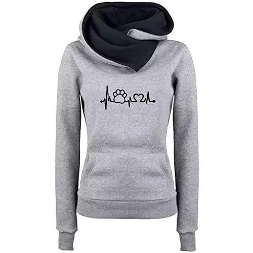 Cenglings 2018 New Cat Printing Sweatshirt Casual Hoodies Pattern Sweaters Cowl Neck Hoodies Thick Street Pullovers Blouse