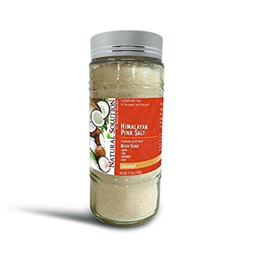 (Himalayan Pink Salt, Coconut Body Soak, 500g)