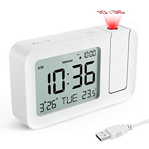 Amazon.com: TedGem - Reloj despertador digital, reloj ...