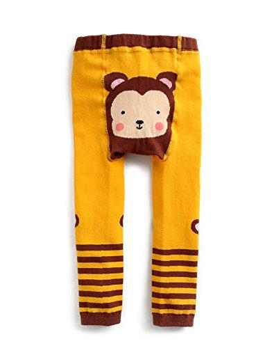 Vaenait baby Infant Boys Footless Ankle Length Cotton Tights Leggings Mango Monkey