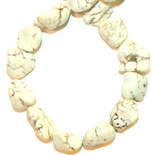(Nugget Magnesite Gemstone Bead 15
