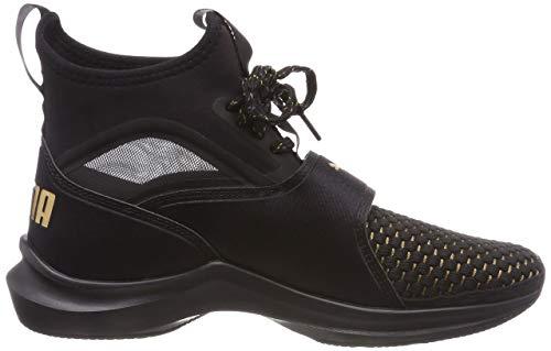 Black Black Puma puma Noir 01 de Varsity Femme Phenom Puma Chaussures Wn's Fitness 8qF1Pz