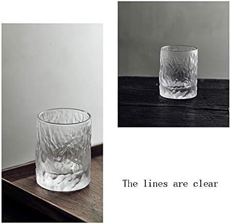 YIFEI2013-SHOP Vasos Cristal Vasos de Cristal de Whisky Fashioned cócteles de cata Vasos de Vidrio for Beber Grande claras de cata Vasos for Beber Grandes Vasos de Agua