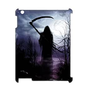 C-EUR Grim Reaper Pattern 3D Case for iPad 2,3,4