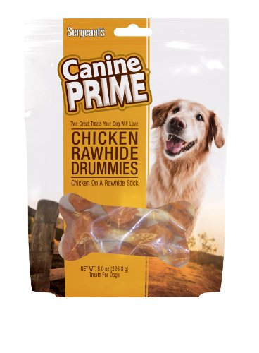 Sergeant's Pet Care Products Canine Prime Chicken Drummies Pet Food, My Pet Supplies