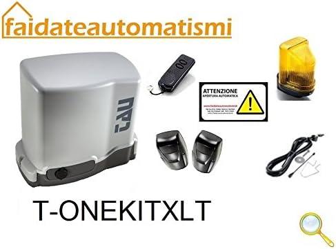 Kit AUTOMAZIONE Puerta Corredera 230 V (1200 kg de alcance Tau Italia: Amazon.es: Electrónica