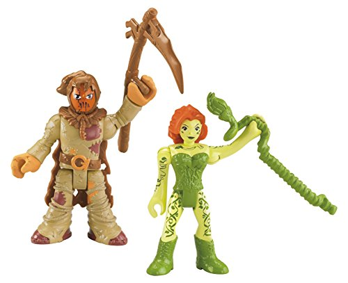 Fisher-Price Imaginext DC Super Friends, Scarecrow & Poison Ivy]()