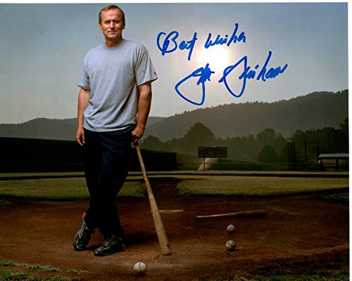 JOHN GRISHAM signed autographed BASEBALL photo