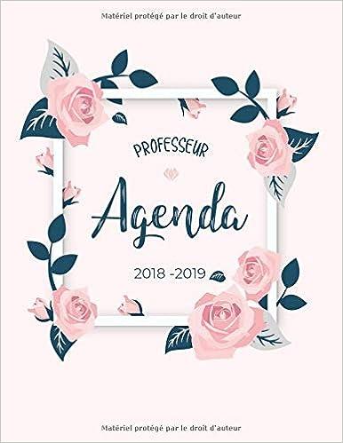Agenda professeur 2018-2019: Agenda scolaire du programmes ...