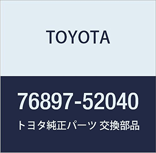 Toyota Genuine 76897-52040 Spoiler Protector
