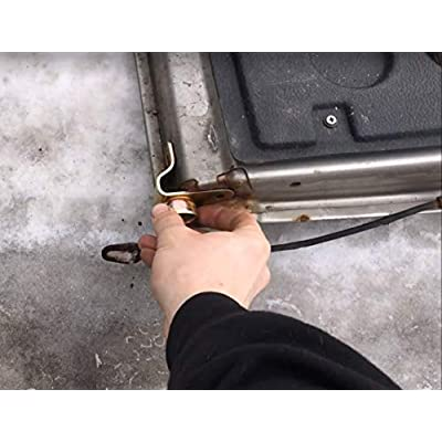 BETOOLL Tailgate Hinge KIT for 99-06 Chevy Silverado GMC Sierra 4 Piece Set: Automotive