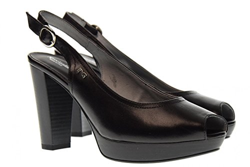 P805620d Giardini 100 Tacones Con Nero De Zapatos Decollet Negro Mujer OTZwxqd