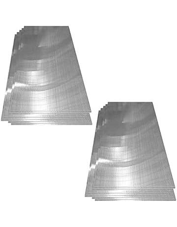 Deuba ® Placa de policarbonato | Paneles de Policarbonato | 60,5x121 cm por panel