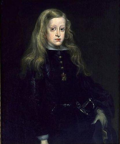 Juan Carreno De Miranda King Charles II of Spain c. 1650 25.59x30.71 [Kitchen] by 1st Art Gallery