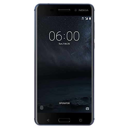 Nokia 6 – 32 GB – Unlocked (AT&T/T-Mobile) – Blue