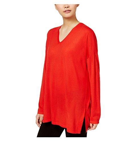 Pullover Eileen Fisher (Eileen Fisher Ultrafine Merino V-Neck Tunic (PM))