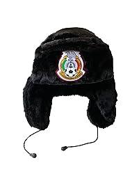 GORRUSO OFICIAL DE LA SELECCIÓN NACIONAL DE MÉXICO (Negro con orejeras)