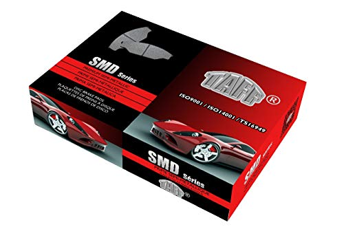 SMD - 2000 fits Cadillac Eldorado ETC Front Semi Metallic Brake Pads With One Year Manufacturer Warranty - Hardware Kits Not Included
