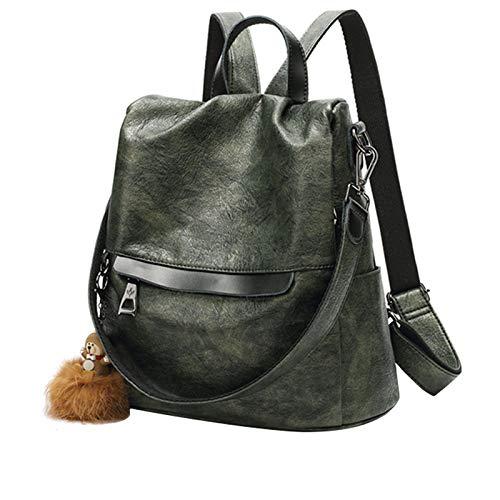Classic green 10cm10cm Leather Shoulder Bag Korean Version of The Versatile Shoulder Bag Pink