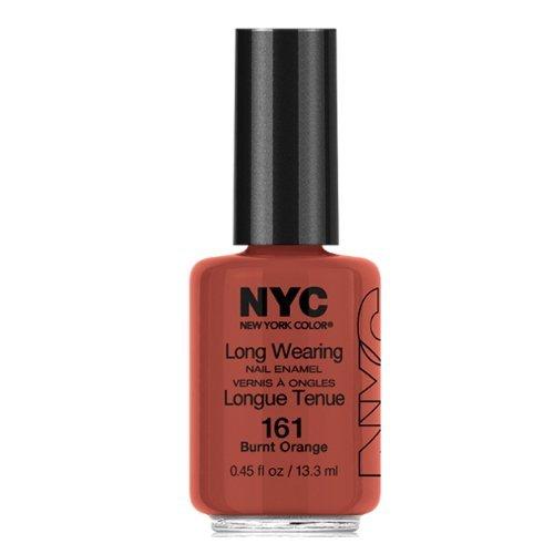 NYC Long Wearing Nail Enamel - Brunt Orange
