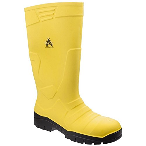 As1007 Boots Giallo Safety Amblers misto AEZq8xx