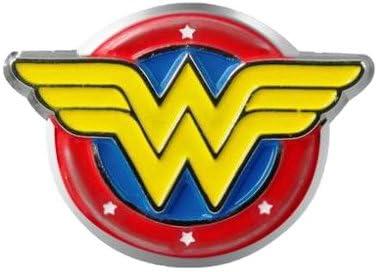 DC Comics Wonder Woman Logo Colored Pewter Lapel Pin,Yellow,1