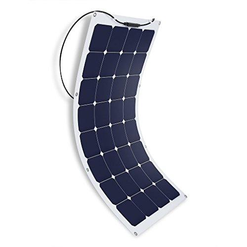 Suaoki-50W100W-18V-Solar-Panel-Charger-SunPower-Cell-Ultra-Thin-Flexible-with-MC4-Connector-Charging-for-RV-Boat-Cabin-Tent-CarCompatibility-with-18V-and-Below-Devices