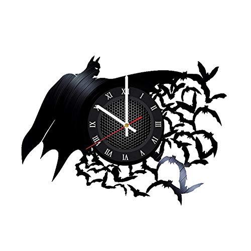 Batman Arkham Asylum Handmade Vinyl Record Wall Clock