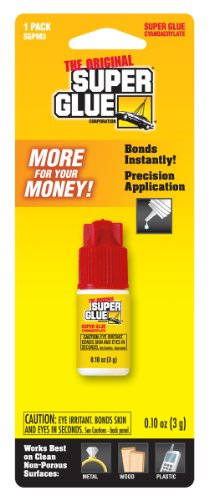 Super Glue Super Glue SGPM3-12 Spill-Resistant Bottle, 12-Pack(Pack of 12) by Super Glue (Image #1)