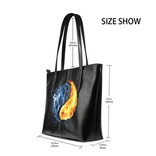 Handle Bags And Top Satchel Women's Tote Gossip Fire Shoulder Handbags Purse Bennigiry Basketball Large Water 8Y7w0YqE
