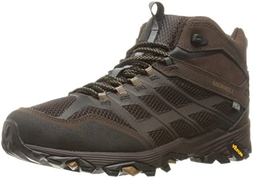 Merrell Men s Moab Fst Mid Waterproof Hiking Shoe