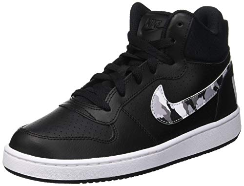de Mid on Color Chaussures gar Nike Gymnastique Multi White Platinum Pure Court Black 008 Borough Multicolore GS Xgqxxpw1