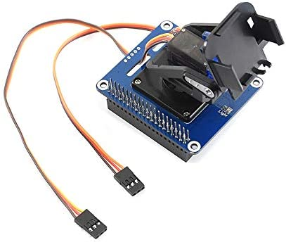 with I2C Interface allows the Pi to control camera movement and sense light intensity by I2C interface. Lotus 2-DOF Pan-Tilt HAT for Raspberry Pi Zero//ZeroW//ZeroWH//2B//3B//3B+ Light Intensity Sensing