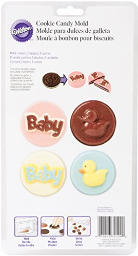 (Wilton Cookie Candy & Mold-Baby 8 Cavities (4 Designs))
