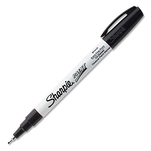 (Sharpie Oil-Based Paint Marker, Extra Fine Point, Black Ink,Pack of)