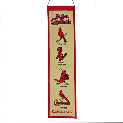 Winning Streak MLB St. Louis Cardinal 46103Saint Louis Cardinals Fan Favorite Banner, Multicolor, One Size