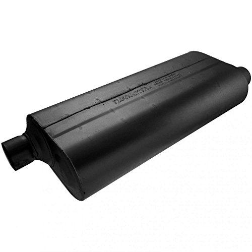 - Flowmaster 52573 70 Series Muffler - 2.50 Offset IN / 2.50 Offset OUT - Mild Sound
