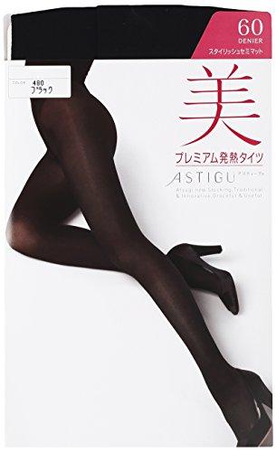 ATSUGI 아츠기 타이츠 ASTIGU (아스티구) [아름다움] 프리미엄 발열 스타킹 60 데니아  3 켤레 세트
